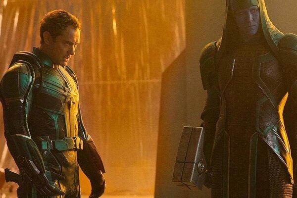кадры и фото из фильма Капитан Марвел