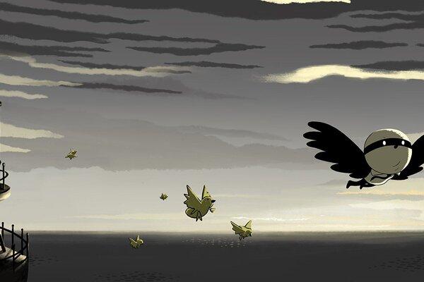 кадры и фото из фильма Birdboy: The Forgotten Children