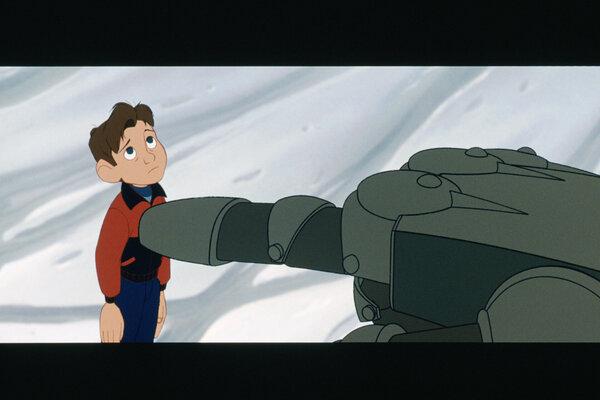 кадры и фото из фильма Стальной гигант