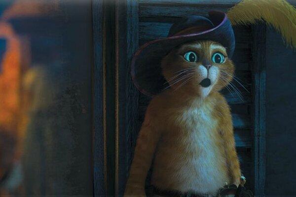 кадры и фото из фильма Кот в сапогах IMAX 3D