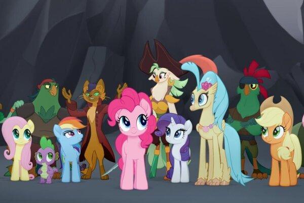 кадры и фото из фильма My Little Pony в кино