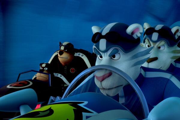 кадры и фото из фильма Пингвиненок Пороро: Большие гонки