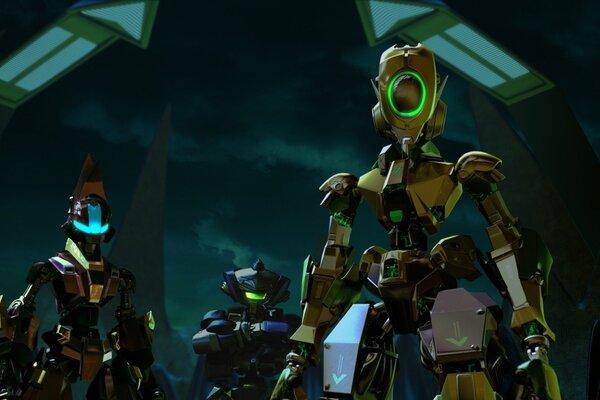 кадры и фото из фильма Роботы 3D