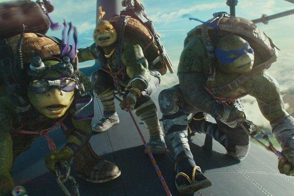 кадры и фото из фильма Черепашки-ниндзя 2