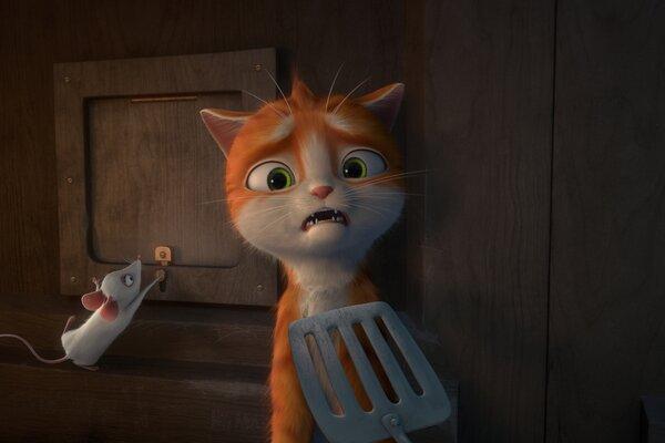 кадры и фото из фильма Кот Гром и заколдованный дом 3D
