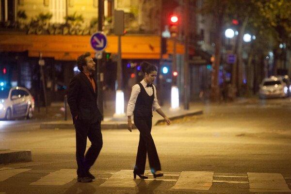кадры и фото из фильма Ночь в Париже
