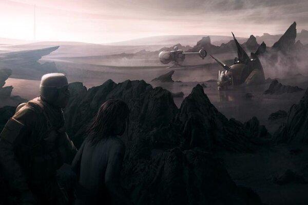 кадры и фото из фильма Обливион