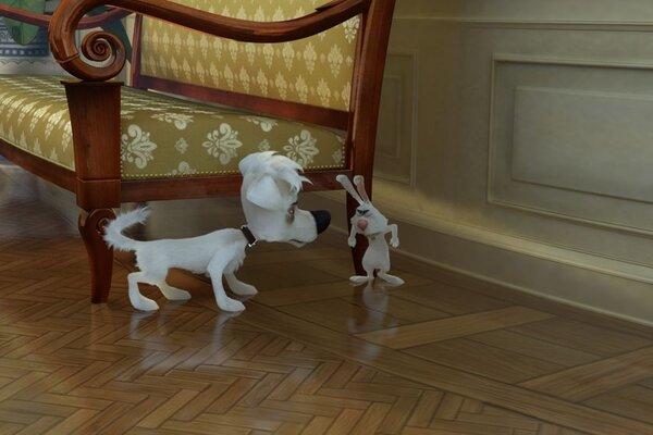 кадры и фото из фильма Белка и Стрелка. Лунные приключения 3D