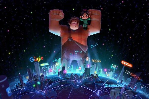 кадры и фото из фильма Ральф против интернета
