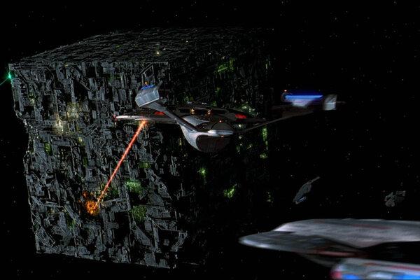 кадры и фото из фильма Звездный путь: Первый контакт