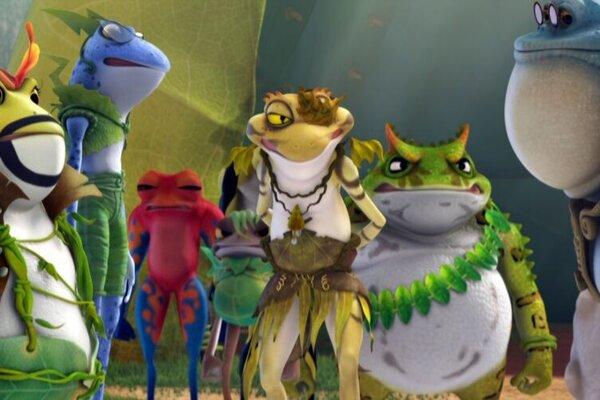кадры и фото из фильма Принцесса-лягушка