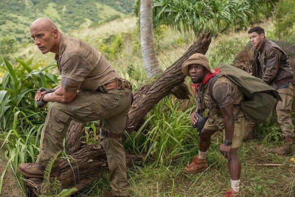 кадры и фото из фильма Джуманджи: Зов джунглей