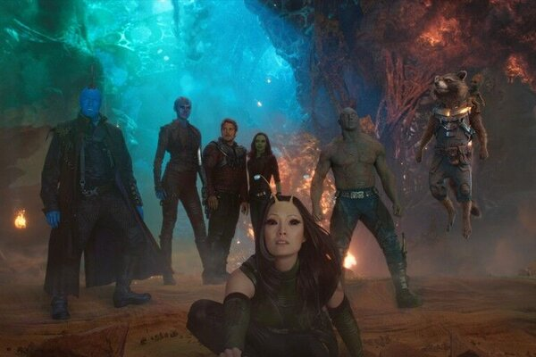 кадры и фото из фильма Стражи Галактики. Часть 2