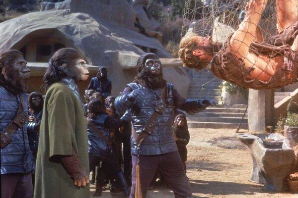 кадры и фото из фильма Планета обезьян