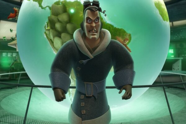 кадры и фото из фильма Спасти Санту 3D