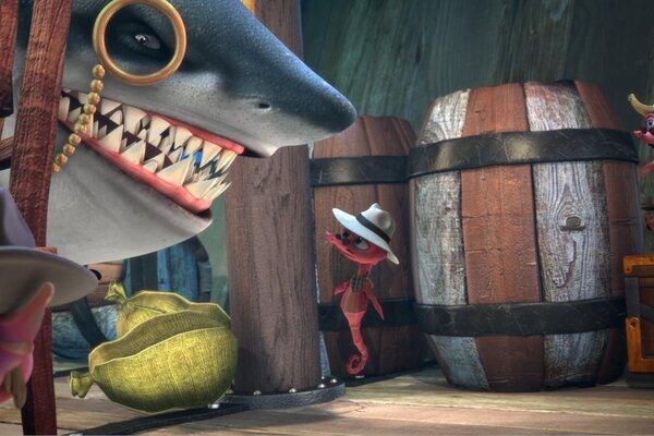кадры и фото из фильма Олли и сокровища пиратов 3D