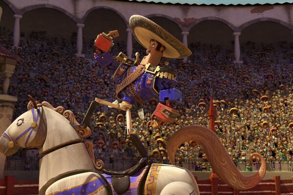 кадры и фото из фильма Книга жизни 3D