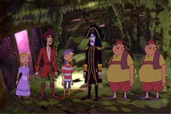 кадры и фото из фильма Юнга с корабля пиратов