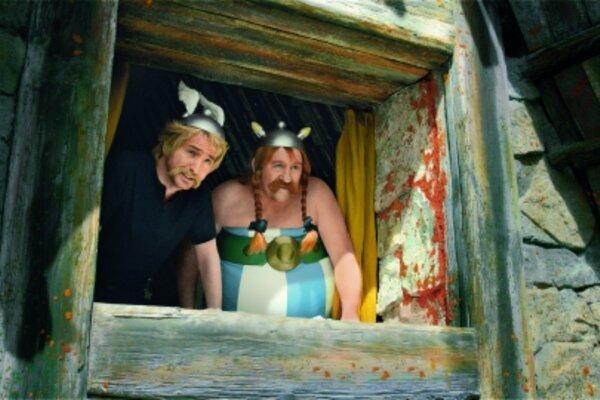 кадры и фото из фильма Астерикс и Обеликс в Британии 3D