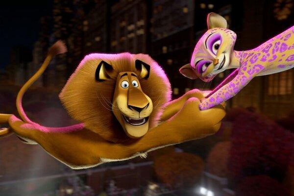 кадры и фото из фильма Мадагаскар 3