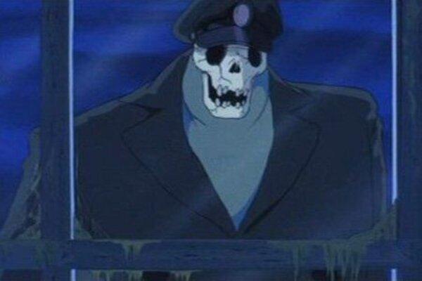 кадры и фото из фильма Летающий корабль-призрак