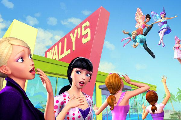 кадры и фото из фильма Барби: Тайна феи