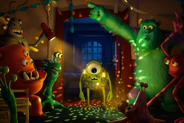 кадры и фото из фильма Университет монстров 3D