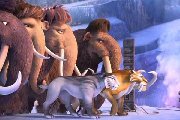 кадры и фото из фильма Ледниковый период: Столкновение неизбежно