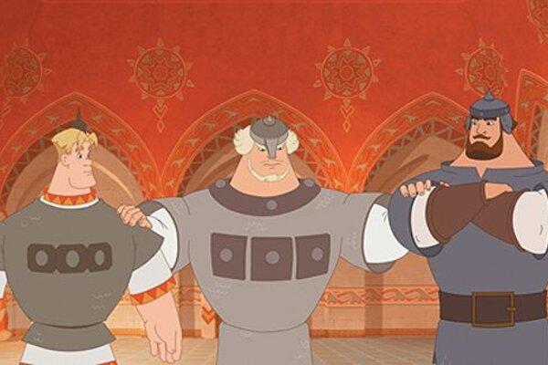 кадры и фото из фильма Три богатыря и Шамаханская царица 3D
