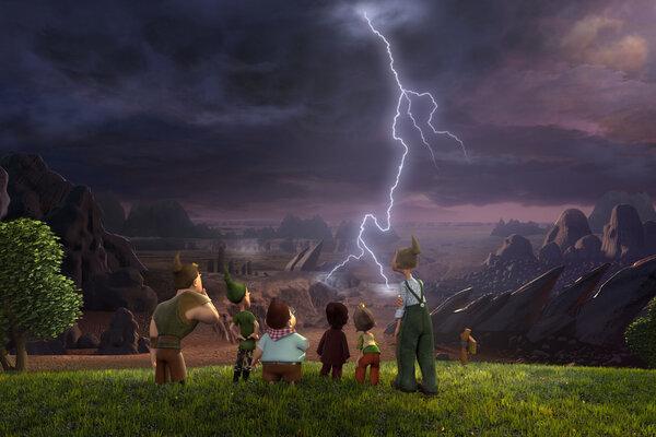 кадры и фото из фильма 7-ой гном