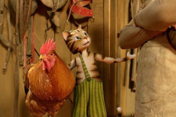 кадры и фото из фильма Петсон и Финдус. Маленький мучитель - большая дружба