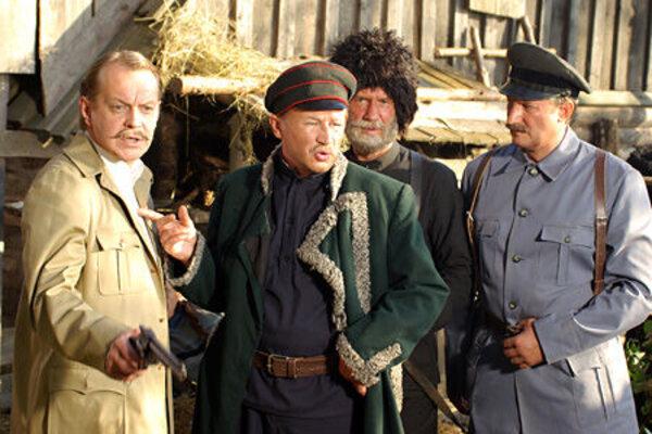 кадры и фото из фильма Господа офицеры: спасти императора
