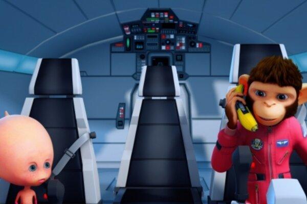 кадры и фото из фильма Мартышки в космосе: Ответный Удар 3D
