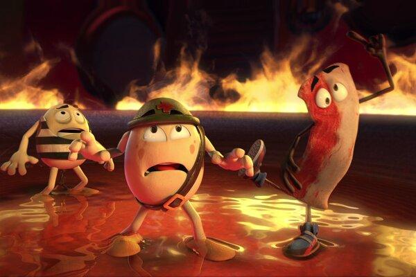 кадры и фото из фильма Крутые яйца