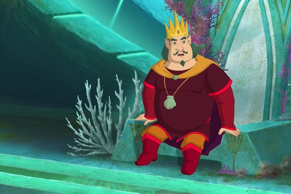 кадры и фото из фильма Три богатыря и Морской царь