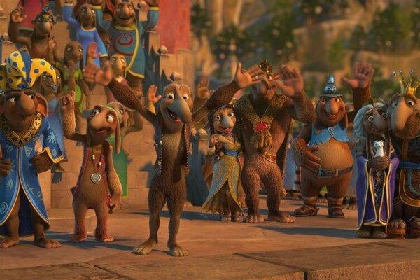 кадры и фото из фильма Снежная королева 3: огонь и лед