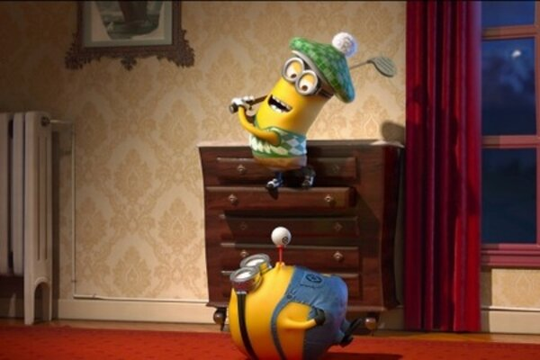 кадры и фото из фильма Гадкий я 2 в 3D
