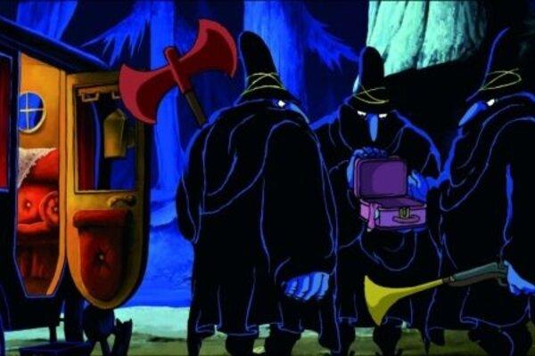 кадры и фото из фильма Три разбойника