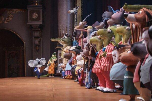 кадры и фото из фильма Зверопой