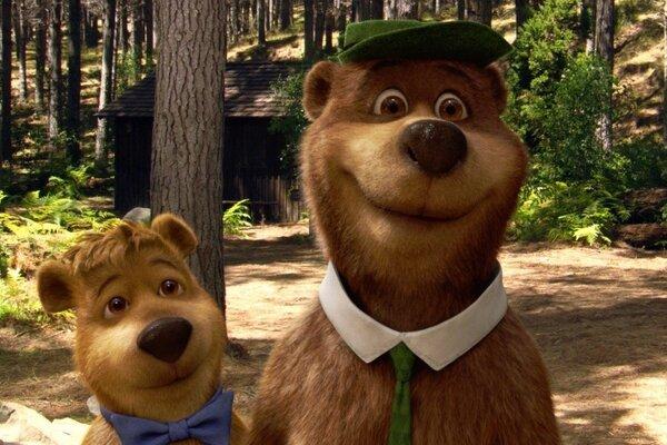 кадры и фото из фильма Медведь Йоги 3D