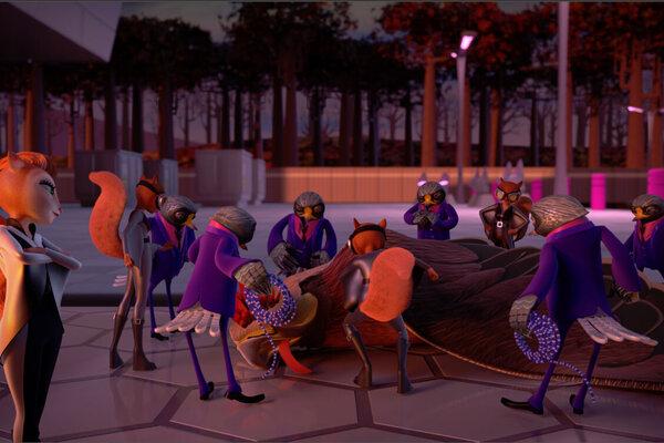 кадры и фото из фильма Белки в деле