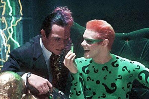 кадры и фото из фильма Бэтмен навсегда