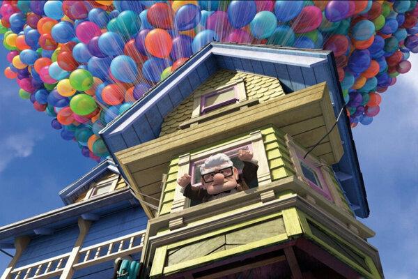 кадры и фото из фильма Вверх