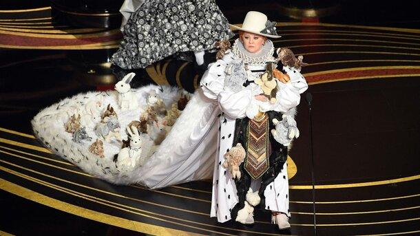 Стало известно количество кроликов на костюме Мелиссы МакКарти во время вручения «Оскаров»