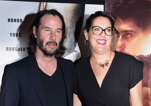 Семейный выход: Киану Ривз поддержал сестру-продюсера на премьере ее нового фильма