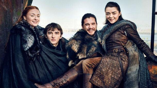 Актёрам «Игры престолов» показали видео со съёмок первого сезона