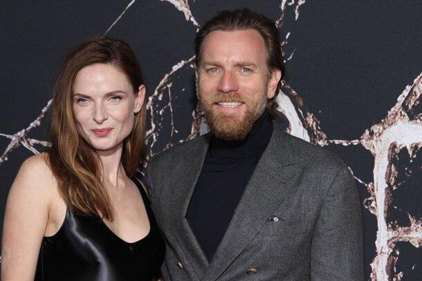 Фото: Юэн МакГрегор и Ребекка Фергюсон на премьере «Доктор Сон» в Лос-Анджелесе