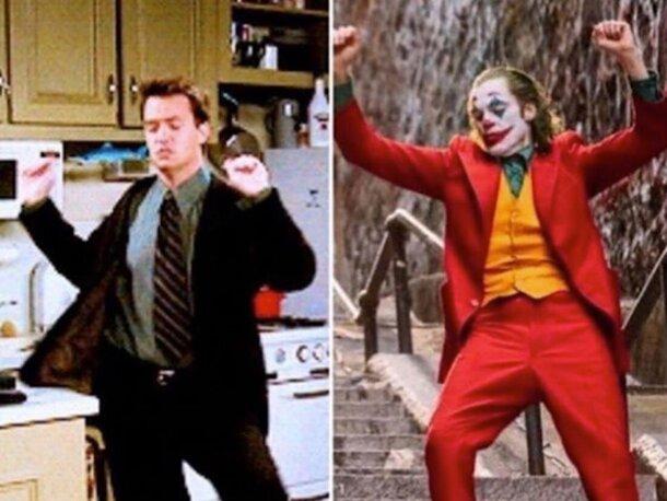 Мэттью Перри пошутил о сходстве Джокера с Чендлером из «Друзей»