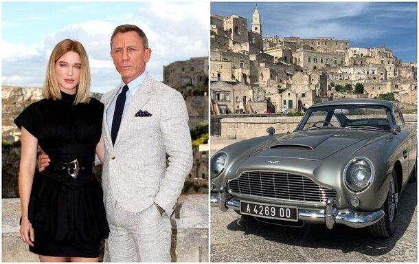 На съемках «Бонда 25» засветился легендарный Aston Martin агента 007