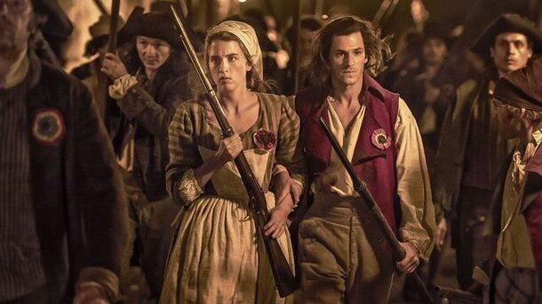 Интервью c актерами Гаспаром Ульелем и Адель Энель к выходу фильма «Один король - одна Франция»